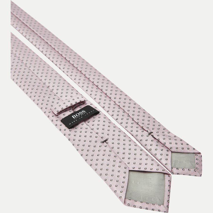 50330055 - Krawatten - LYS RØD - 3